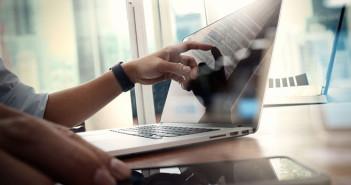 Laptop digitaal werken