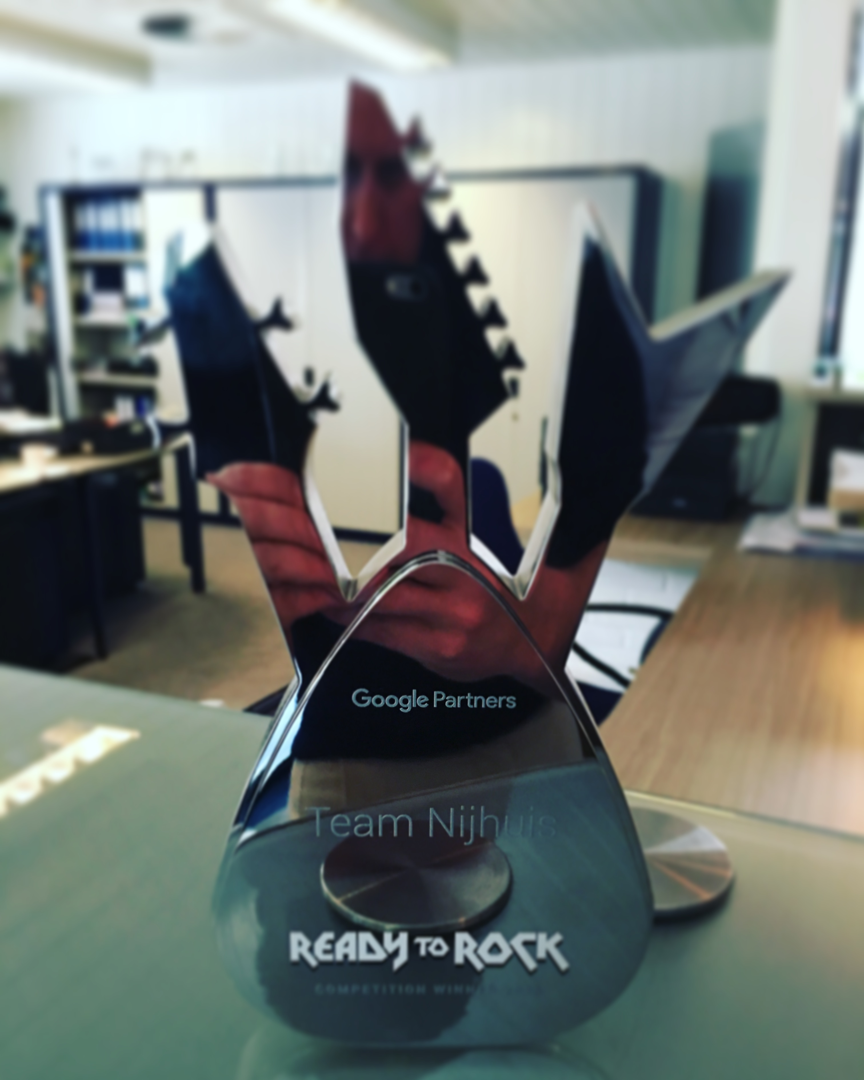 Team Nijhuis bij beste 150 bureaus van de wereld