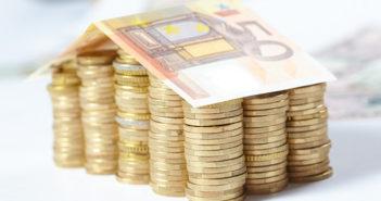 geld-munten-bankbiljet-woning-hypotheek